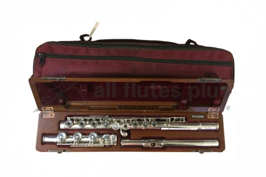 Miyazawa BR402 REH with 9K Riser Secondhand Flute-c8347