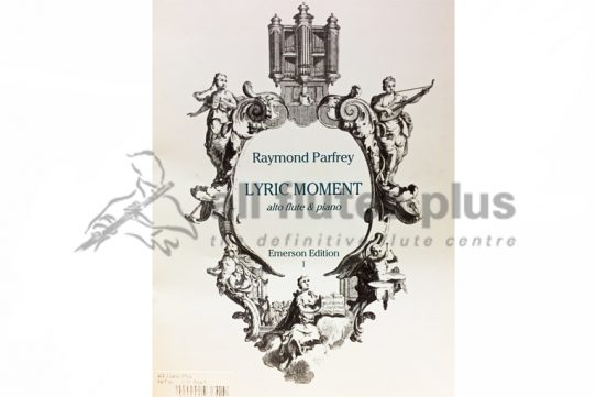 Parfrey Lyric Moment-Alto Flute and Piano-Emerson Edition