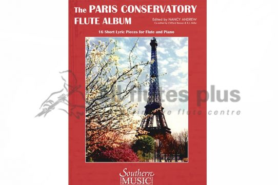 Paris Conservatory Flute Album-Flute And Piano-Southern Music