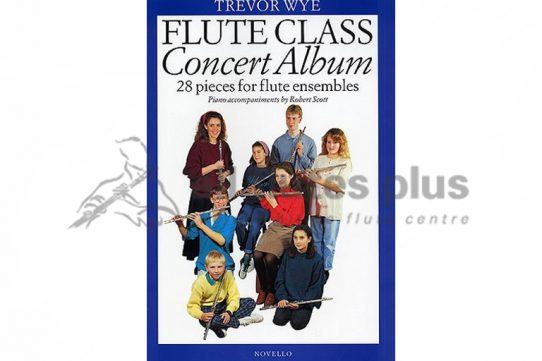 Trevor Wye Flute Class Concert Album-Novello