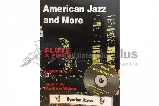 American Jazz and More-Flute and Piano-Spartan Press