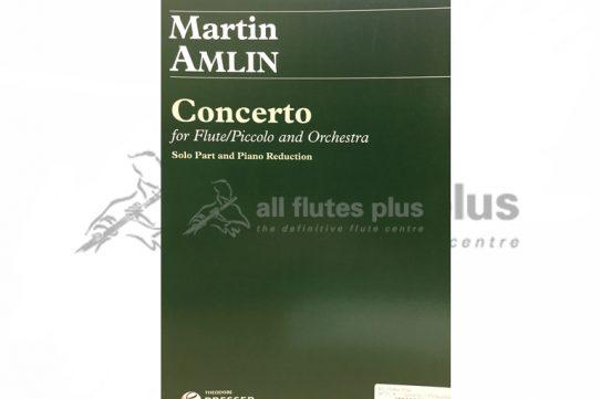 Amlin Concerto for Flute/Piccolo and Piano Reduction-Theodore Presser