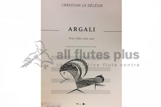 Argali by Christian Le Delezir-Alto Flute-Exaton