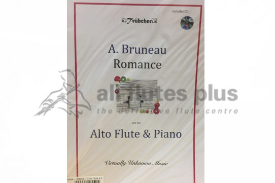 Bruneau Romance-Alto Flute and Piano with CD-Trubcher