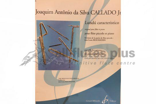 Callado Jr Lundu Caracteristico-Piccolo and Piano-Billaudot