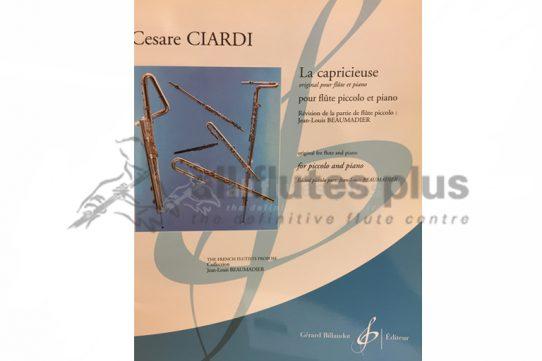 Ciardi Duetto La Capricieuse-Piccolo and Piano-Billaudot