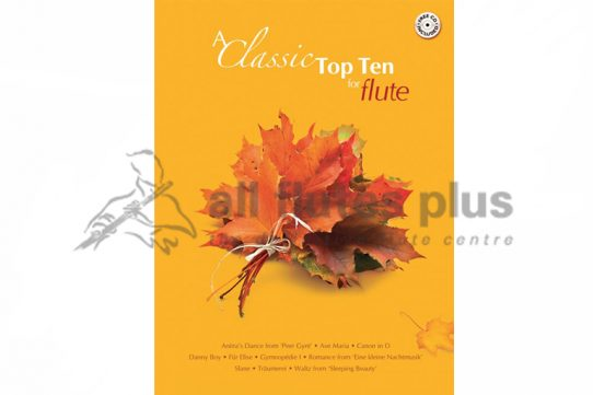Classic Top Ten for Flute-Flute and CD-Kevin Mayhew