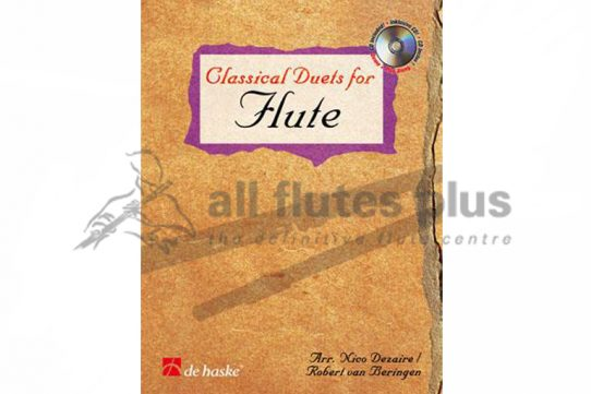 Classical Duets for Flute-Flute Duet and CD-De Haske