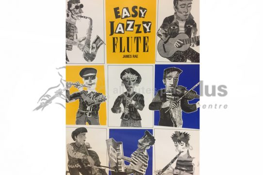 Easy Jazzy Flute by James Rae-Flute and Piano-Universal Edition