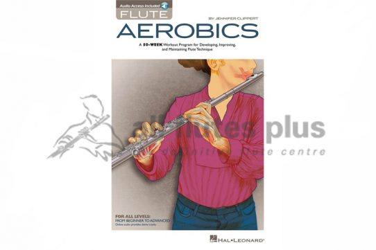 Flute Aerobics-Jennifer Clippert-Flute Book and Online Audio-Hal Leonard