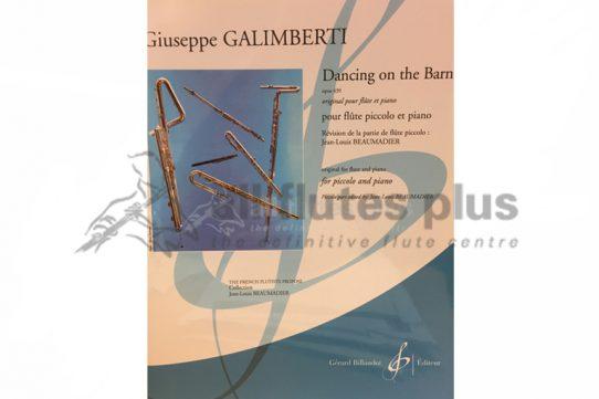 Galimberti Dancing on the Barn Opus 439-Piccolo and Piano-Billaudot