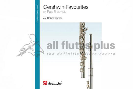 Gershwin Favourites for Flute Ensemble-De Haske