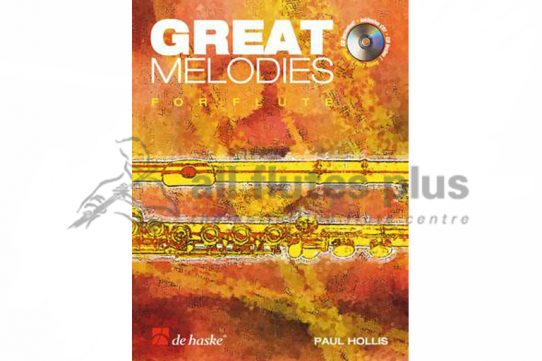 Great Melodies for Flute-Flute and CD-De Haske