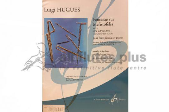 Hugues Fantaisie sur Mefistofeles Opus 104-Piccolo and Piano-Billaudot