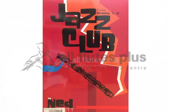 Jazz Club Flute Grades 1-2-Flute and Piano with CD-Alfred Music