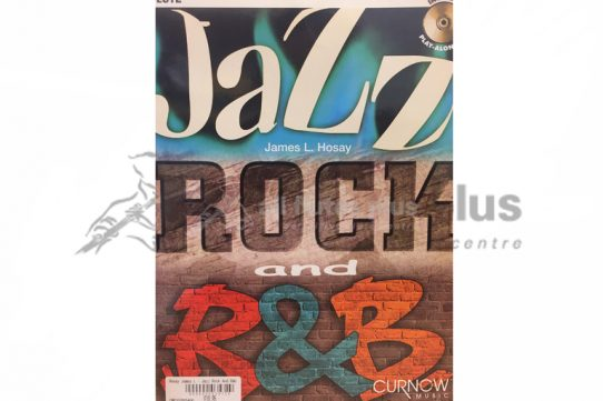 Jazz Rock and R & B-Flute and CD-James L Hosay-Curnow Music