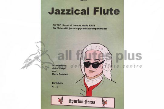 Jazzical Flute Grades 1-3-Flute and Piano-Spartan Press
