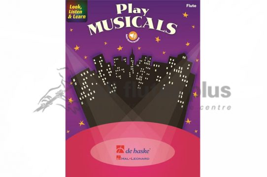 Look Listen and Learn Play Musicals-Flute Book and Online Audio-De Haske