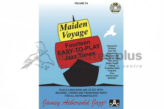 Maiden Voyage Fourteen Easy To Play Jazz Tunes-Flute and CD-Alfred