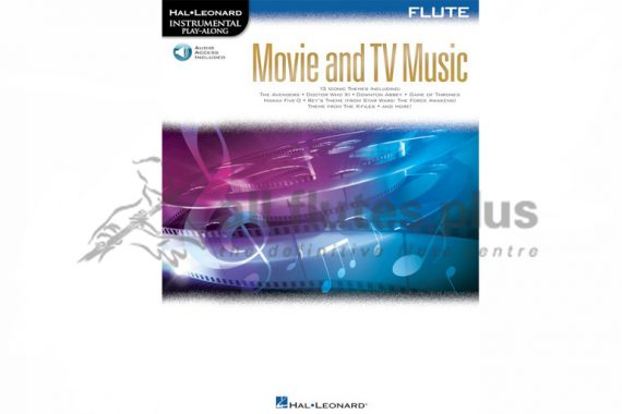Movie and TV Music for Flute Instrumental Play-Along Series-Hal Leonard
