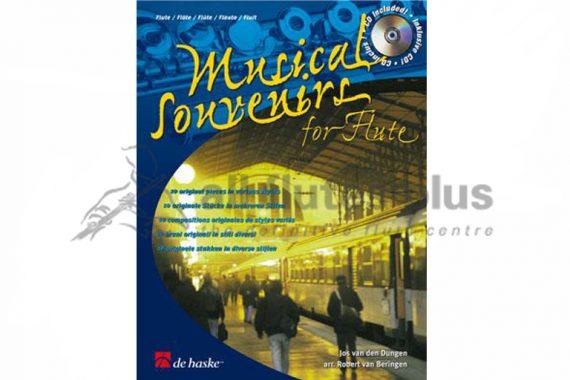 Musical Souvenirs-Flute and CD-De Haske