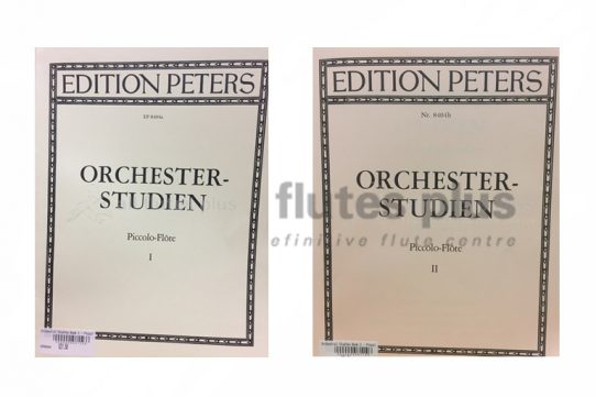 Orchester Studien Piccolo-Edition Peters