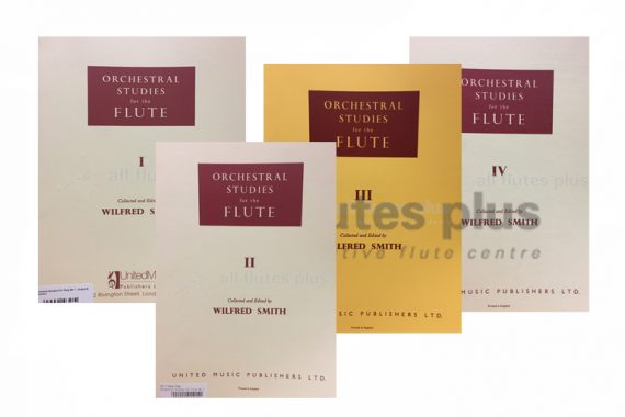Orchestral Studies for the Flute-Edited by Wilfred Smith-UMP