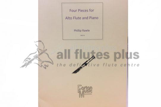 Rawle Four Pieces-Alto Flute and Piano-Forton Music