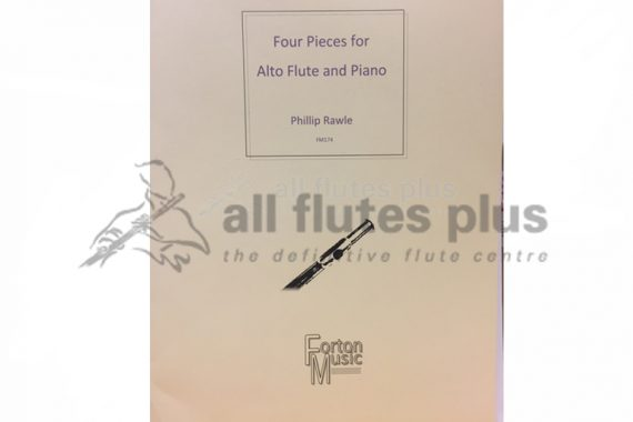 Rawle Four Pieces-Alto Flute and Piano-Forton Music