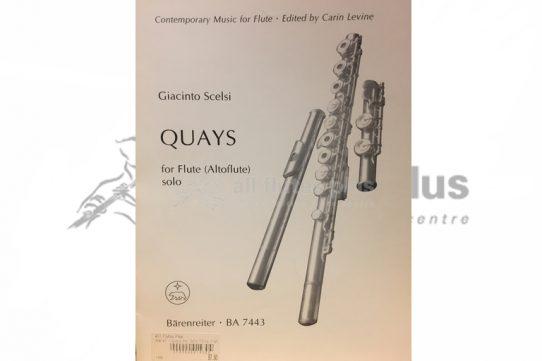 Scelsi Quays-Solo Alto Flute-Barenreiter