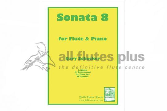 Schocker Sonata No 9-Flute and Piano-Falls House Press