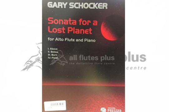 Schocker Sonata for a Lost Planet-Alto Flute and Piano-Theodore Presser