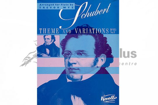 Schubert Theme and Variations D935 No 3-Flute and Piano-Novello
