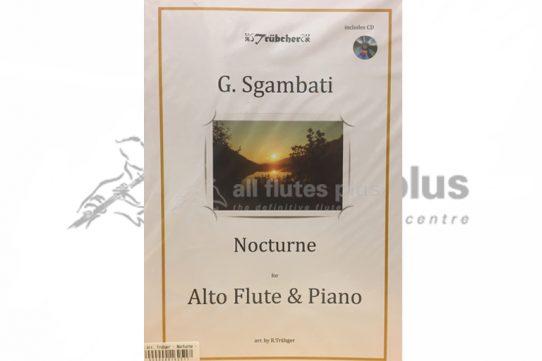 Sgambati Nocturne-Alto Flute and Piano-Trubger Publications