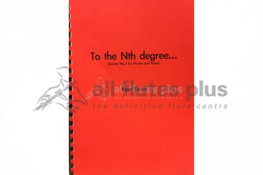 Smith To the Nth Degree-Sonata No 3-Piccolo and Piano-UMP