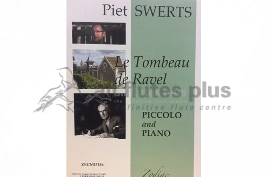 Swerts Le Tombeau de Ravel-Piccolo and Piano-Zodiac
