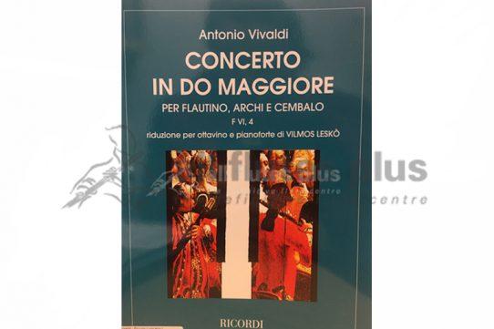 Vivaldi Piccolo Concerto in C Major-Piccolo and Piano-Vilmos Lesko-Ricordi