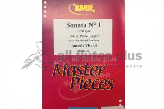 Vivaldi Sonata No 1 in B Flat Major-Flute and Piano or Organ-EMR