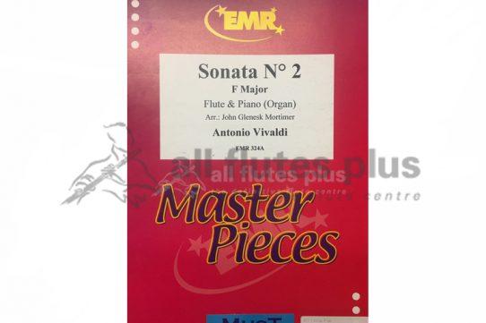 Vivaldi Sonata No 2 in F Major-Flute and Piano or Organ-EMR