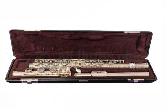 Yamaha 461ROB Secondhand Flute-c8980