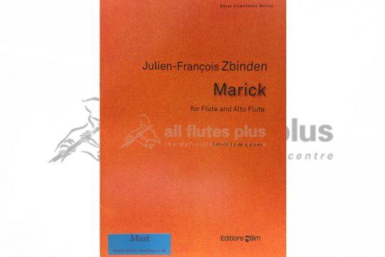 Zbinden Marick-Flute and Alto Flute-Editions Bim