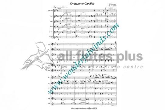 Bernstein Overture to Candide-Flute Quintet-Wonderful Winds