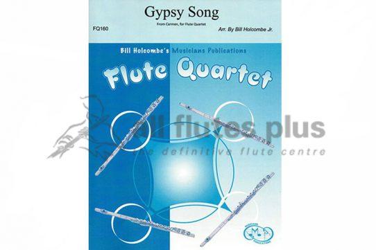 Bizet Gypsy Song-Flute Quartet-Musicians Publications