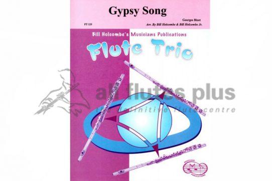 Bizet Gypsy Song-Flute Trio-Musicians Publications