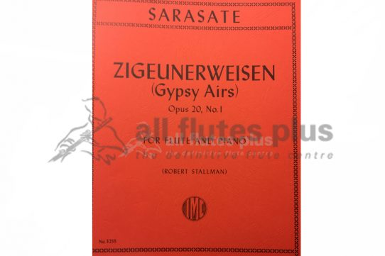 Sarasate Zigeunerweisen Opus 20 No 1-Flute and Piano-IMC