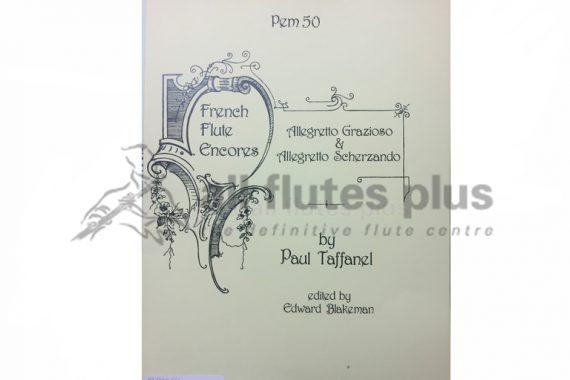 Taffanel Allegretto Grazioso and Allegro Scherzando-Flute and Piano-Pan Music