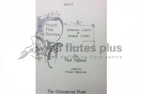 Taffanel Andantino and Andante-Flute and Piano-Pan Music