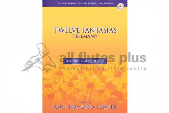 Telemann Fantasias for Unaccompanied Flute-Edited by Edmund-Davies