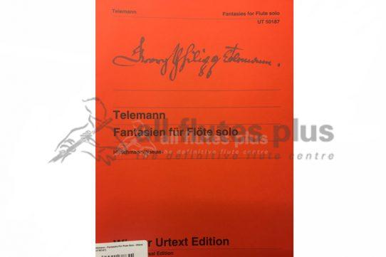 Telemann Fantasies for Flute Solo-Wiener Urtext Edition