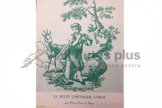 Tomasi Le Petit Chevrier Corse-Flute and Piano-Leduc